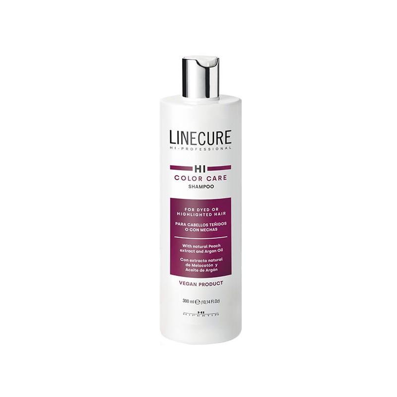 Linecure champu color care para cabellos teñidos o con mechas