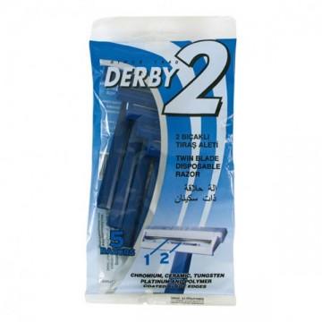 Bolsa 5 maquinillas Derby 2