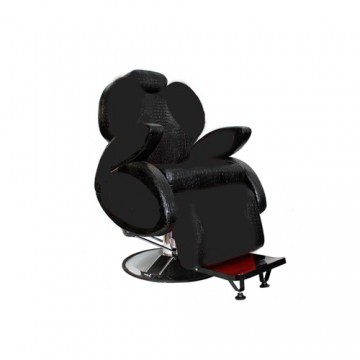 Hercules black barber chair...