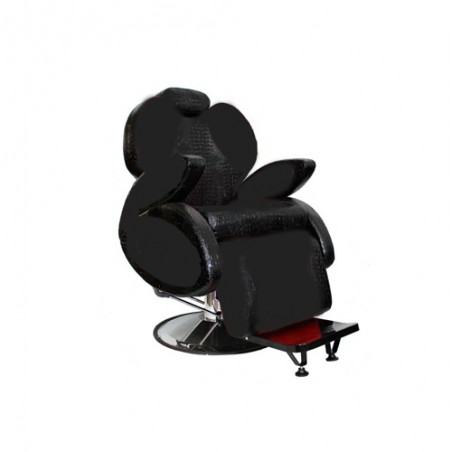 Hercules black barber chair MH Cosmetics