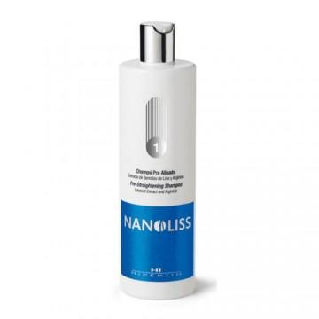 NANOLISS pre-smoothed shampoo
