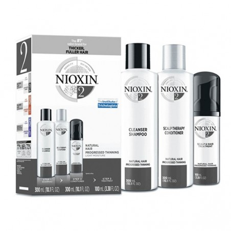 NIOXIN PACK CABELLO NATURAL Nº2