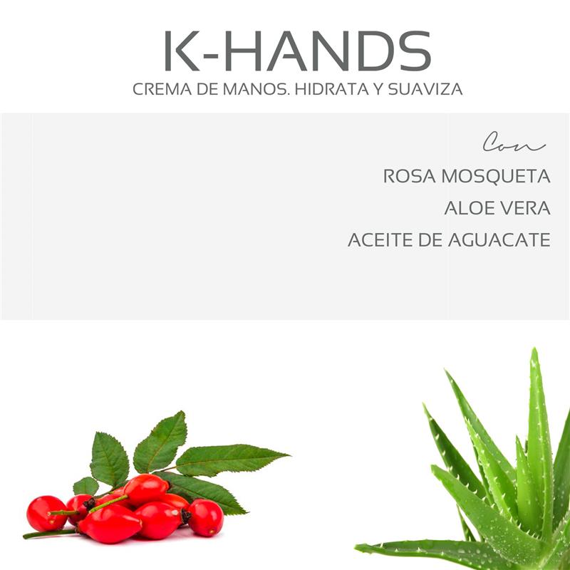 Keiroa k-hands crema de rosa mosqueta