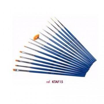 Katay 15 nail art brushes
