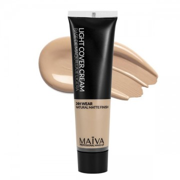 Maïva light cover cream - base de maquillaje ligera
