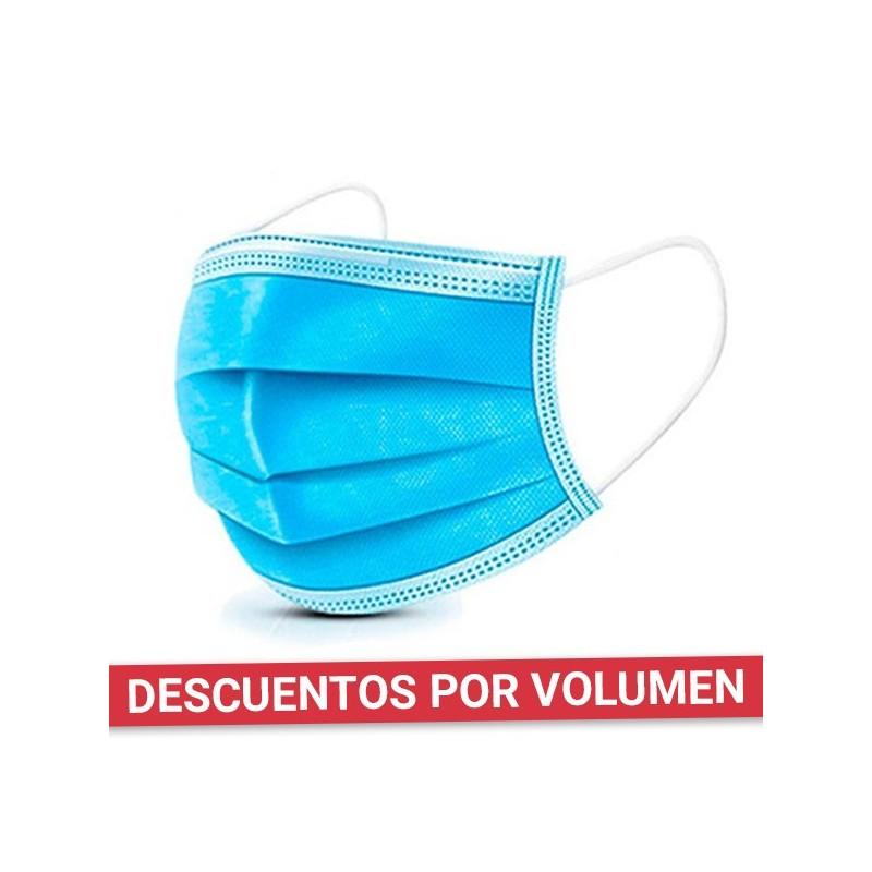 Mascarilla higiénica desechable 3 capas