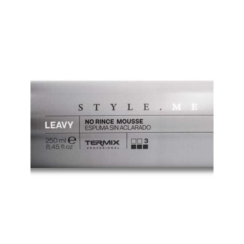 Termix style.me espuma sin aclarado leavy 250 ml