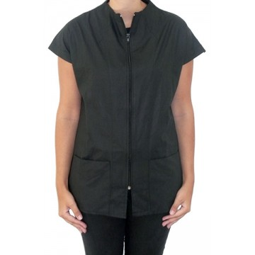 Camisa lisa negra talla M