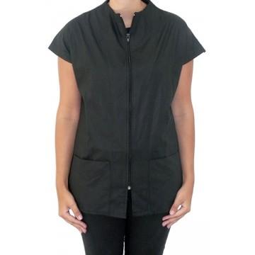 Camisa lisa negra talla SG