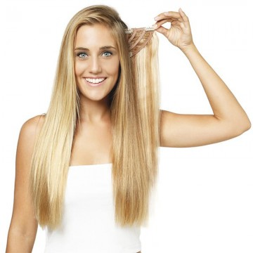 HAIR WEFT  NATURAL STRAIGH