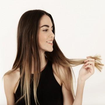 Natural hair weft 100gr x...